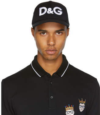 Dolce & Gabbana Black Logo Cap