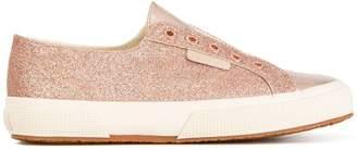 Superga micro glitter sneakers