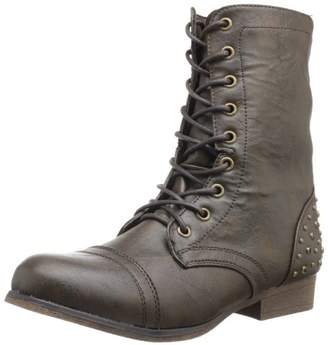 Madden-Girl Women's Gallyyy Lace-Up Boot