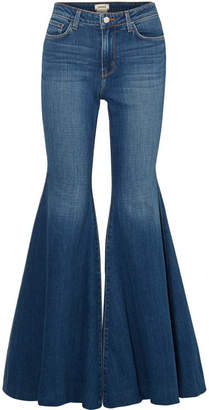 L'Agence Lorde High-rise Flared Jeans - Mid denim