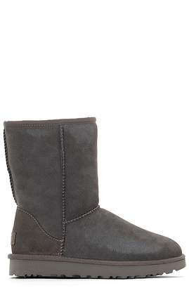 UGG Leather Fur-Lined Boots