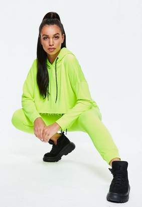 Missguided Neon Yellow Joggers