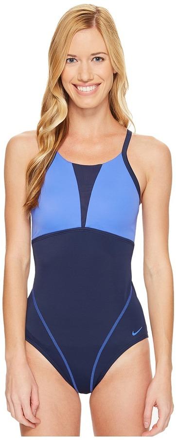 NikeNike - Solids Racerback Tank Top Women's Swimwear