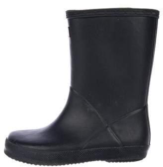 Hunter Kids' Rubber Rain Boots