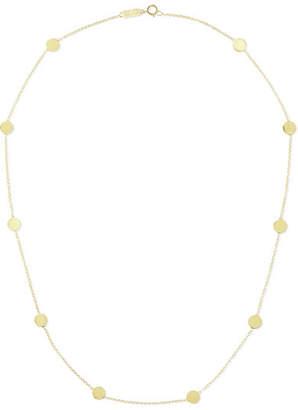 Jennifer Meyer Circle 18-karat Gold Necklace