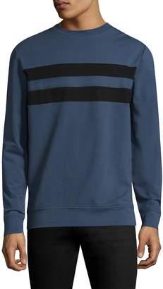 Antony Morato Men's Striped Cotton Sweater