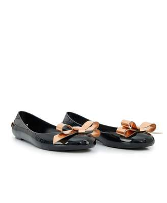 Ted Baker Jelly Bow Pumps Colour: BLACK, Size: UK 5