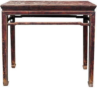 One Kings Lane Vintage Qing Dynasty Antique Console Table - de-cor