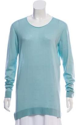 Balenciaga Semi-Sheer Cashmere Sweater