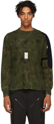 1017 Alyx 9SM Green Camo Sling Long Sleeve T-Shirt