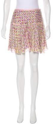 Diane von Furstenberg Jai Silk Skirt