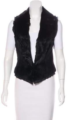 Sheri Bodell Collared Fur Vest