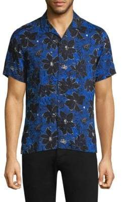 The Kooples Exotic Button-Down Shirt