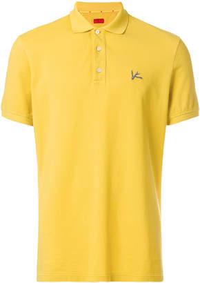 Isaia short sleeved polo shirt