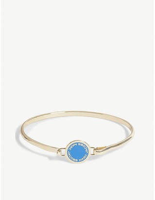 Marc Jacobs Enamel disc hinged bracelet
