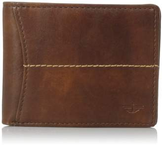 Dockers Soft Hand Center Stitch Extra Capacity Slimfold Wallet