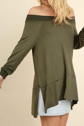 Umgee USA Classy Off-Shoulder Top