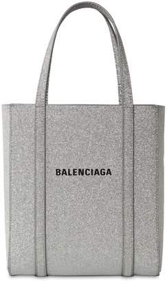 Balenciaga Xxs Everyday Glittered Leather Tote