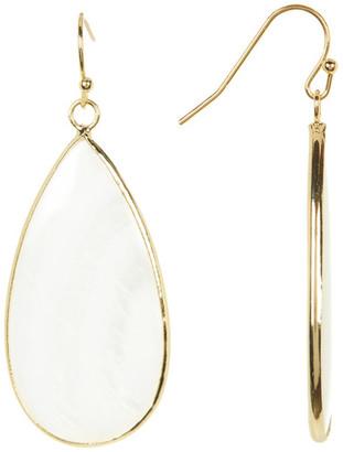 Panacea White Stone Teardrop Earrings $14.97 thestylecure.com