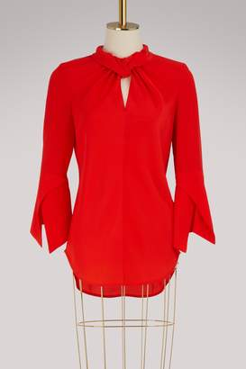 Victoria Beckham Cropped-sleeve top