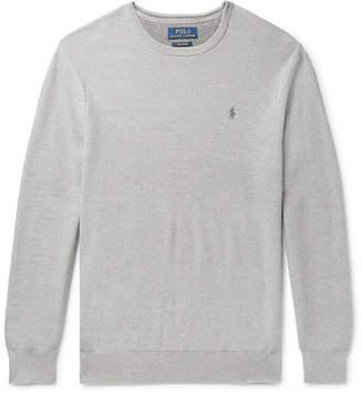Polo Ralph Lauren Honeycomb-Knit Pima Cotton Sweater