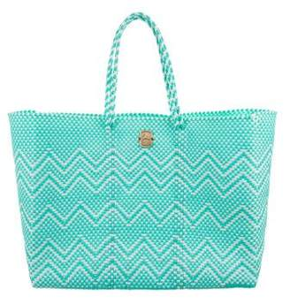 Joie Large Woven Tote