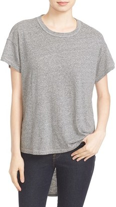 Women's The Great. 'The Shirttail' High/low Tee $145 thestylecure.com