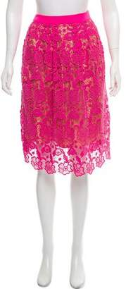 By Malene Birger Lace Knee-Length Skirt