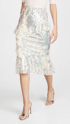 029dcbffff Needle & Thread Scarlett Sequin Midaxi Skirt