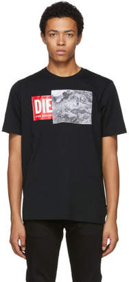 Diesel Black T-Just Logo T-Shirt