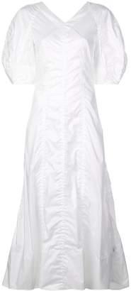 Sonia Rykiel puff sleeve dress