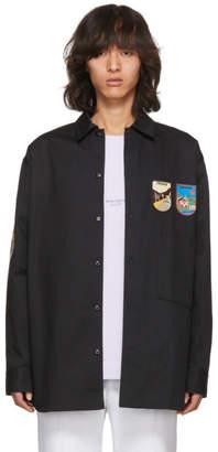 Acne Studios Black Lowis Patch Shirt