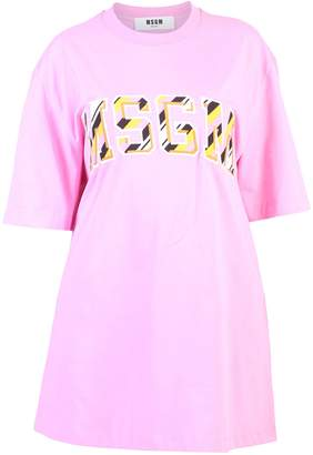 MSGM Pink Oversized T-shirt