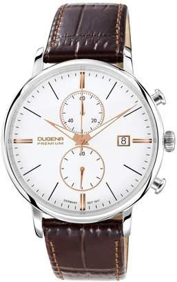 Dugena Premium 7000169 - Men's Wristwatch, Leather, color:Brown