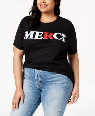 Hybrid Plus Size Cotton Merci Hello Kitty T-Shirt