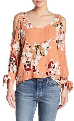 Anama Cold Shoulder Long Sleeve Blouse