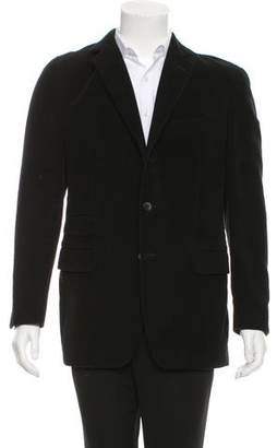 Boglioli Woven Three-Button Blazer