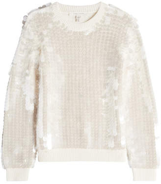 Marc Jacobs Merino Wool Pullover with Sequins
