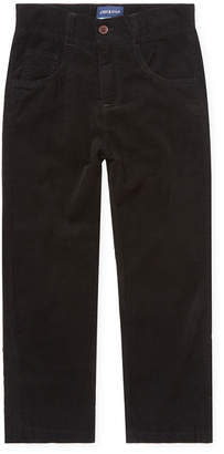 Andy & Evan For Little Gentlemen Solid Ribbed Pant
