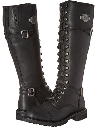 Harley-Davidson - Beechwood Women's Lace-up Boots $220 thestylecure.com