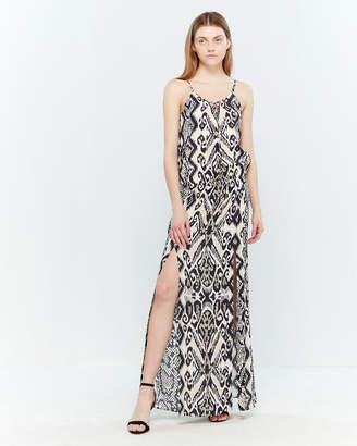 Hale Bob Printed Cami Maxi Dress