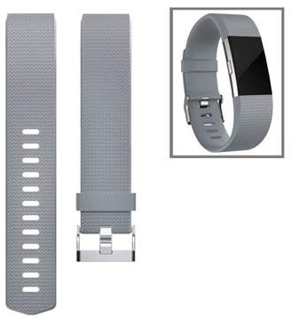 Fitbit For Charge 2 Band, TSV Classic Soft TPU Adjustable Replacement Bands Fitness Sport Strap for Charge 2, Small Large