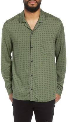 The Kooples Slim Fit Paisley Sport Shirt
