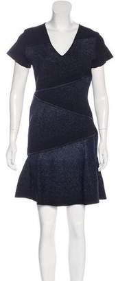 Prabal Gurung Mini Short Sleeve Dress