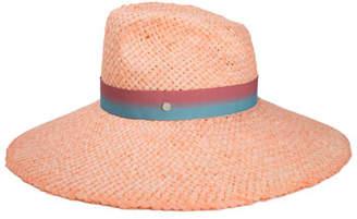 Maison Michel Big Bettina Large Brim Woven Sun Hat