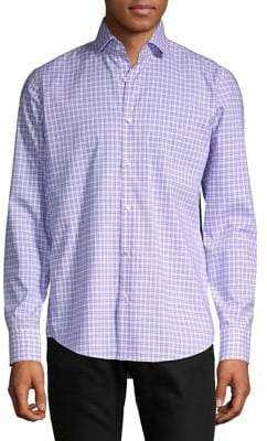 HUGO BOSS Vordon Plaid Button-Down Shirt