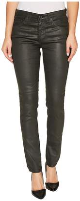 AG Adriano Goldschmied The Legging Ankle in Vintage Leatherette LT Climbing Ivy Women's Casual Pants