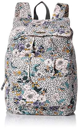 O'Neill Women's Starboard Floral Print Drawcord Backpack Accessory