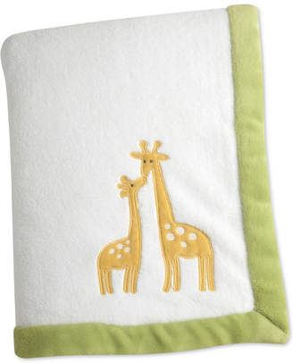 Carter's Animal Collection Applique Fleece Blanket Bedding