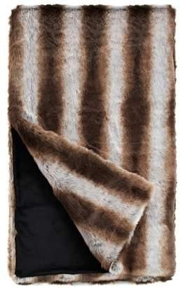 Donna Salyers' Fabulous Furs Donna Salyers Faux Fur Throw - Chinchilla